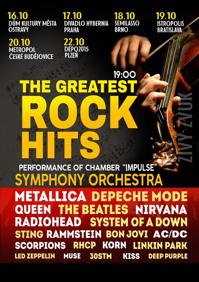 picture THE GREATEST ROCK HITS by Symphony Orchestra
