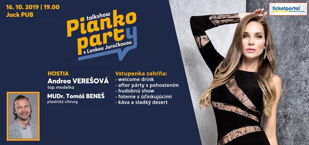 picture Pianko Párty-Talk Show s Verešovou a Mudr. Benešom