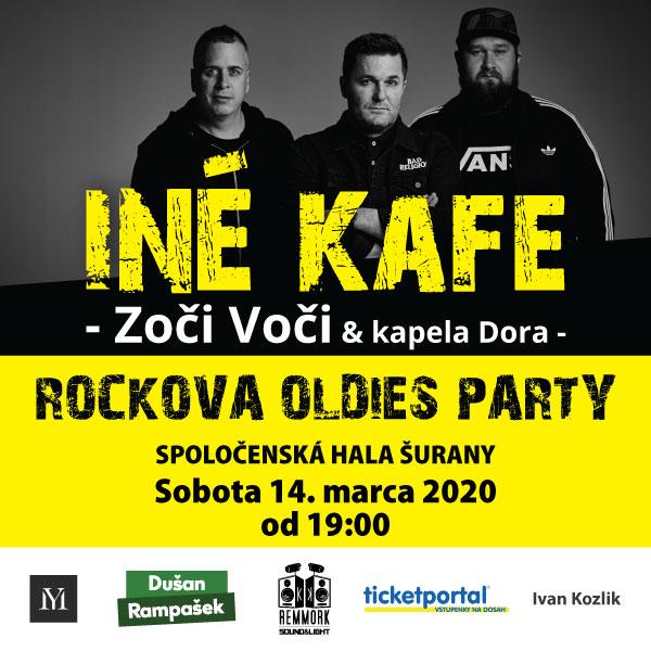 picture Iné kafe & Zoči Voči & Kapela DORA
