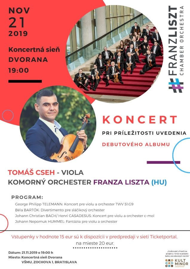 picture TOMÁŠ CSEH & FRANZ LISZT CHAMBER ORCHESTRA