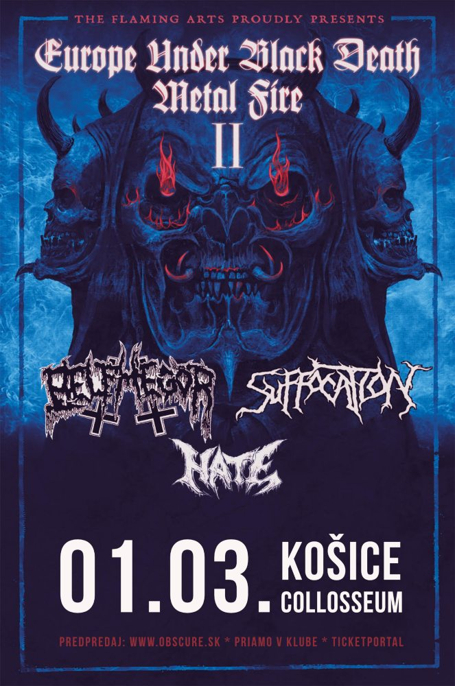 picture BELPHEGOR (AUT) + SUFFOCATION (USA) + HATE (PL)