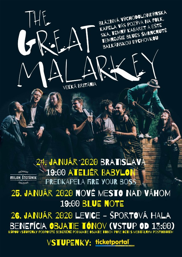 picture Koncert The Great Malarkey