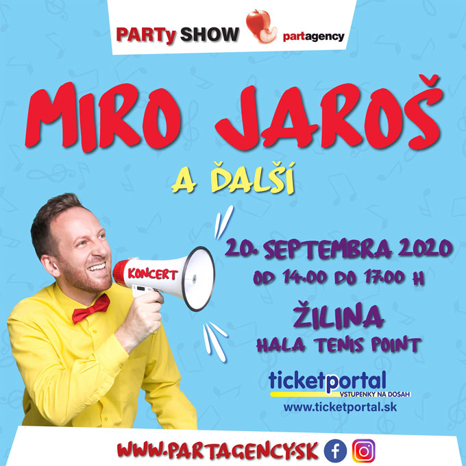 picture Miro Jaroš a hostia – PARTy SHOW