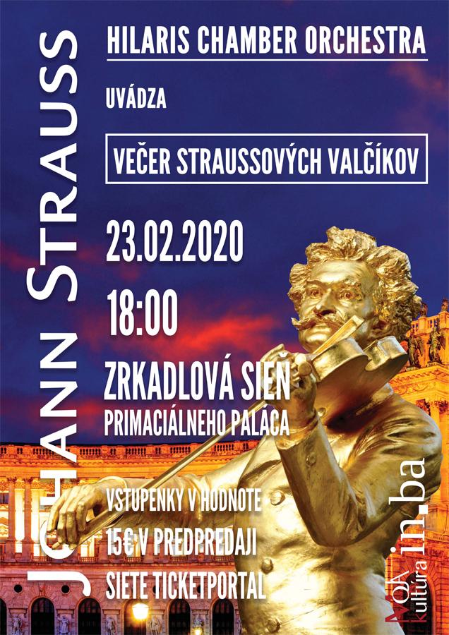 picture Večer Straussových valčíkov - Hilaris Orchestra