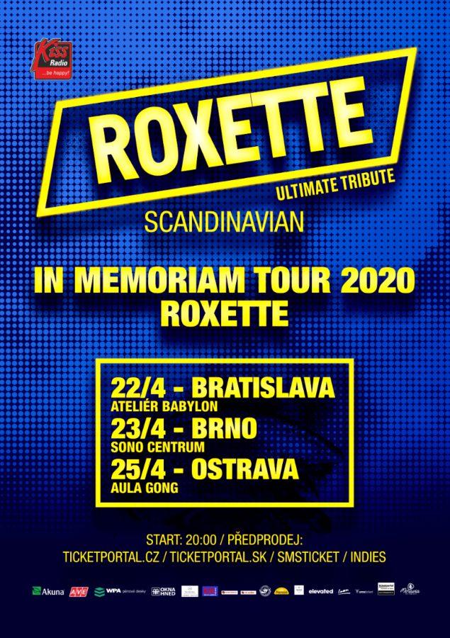 picture Roxette in Memoriam Tour 2020 Bratislava