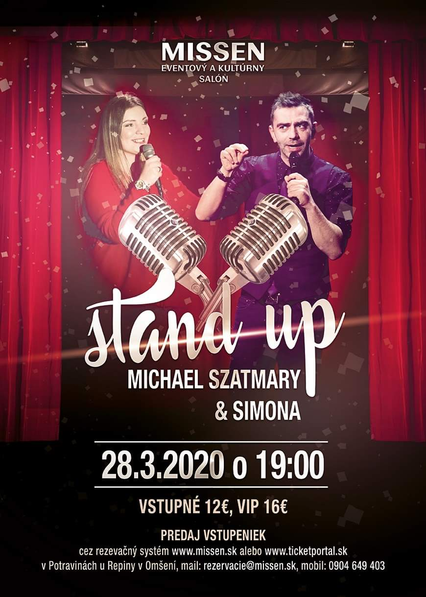 picture Stand-up comedy show Michael Szatmary & Simona