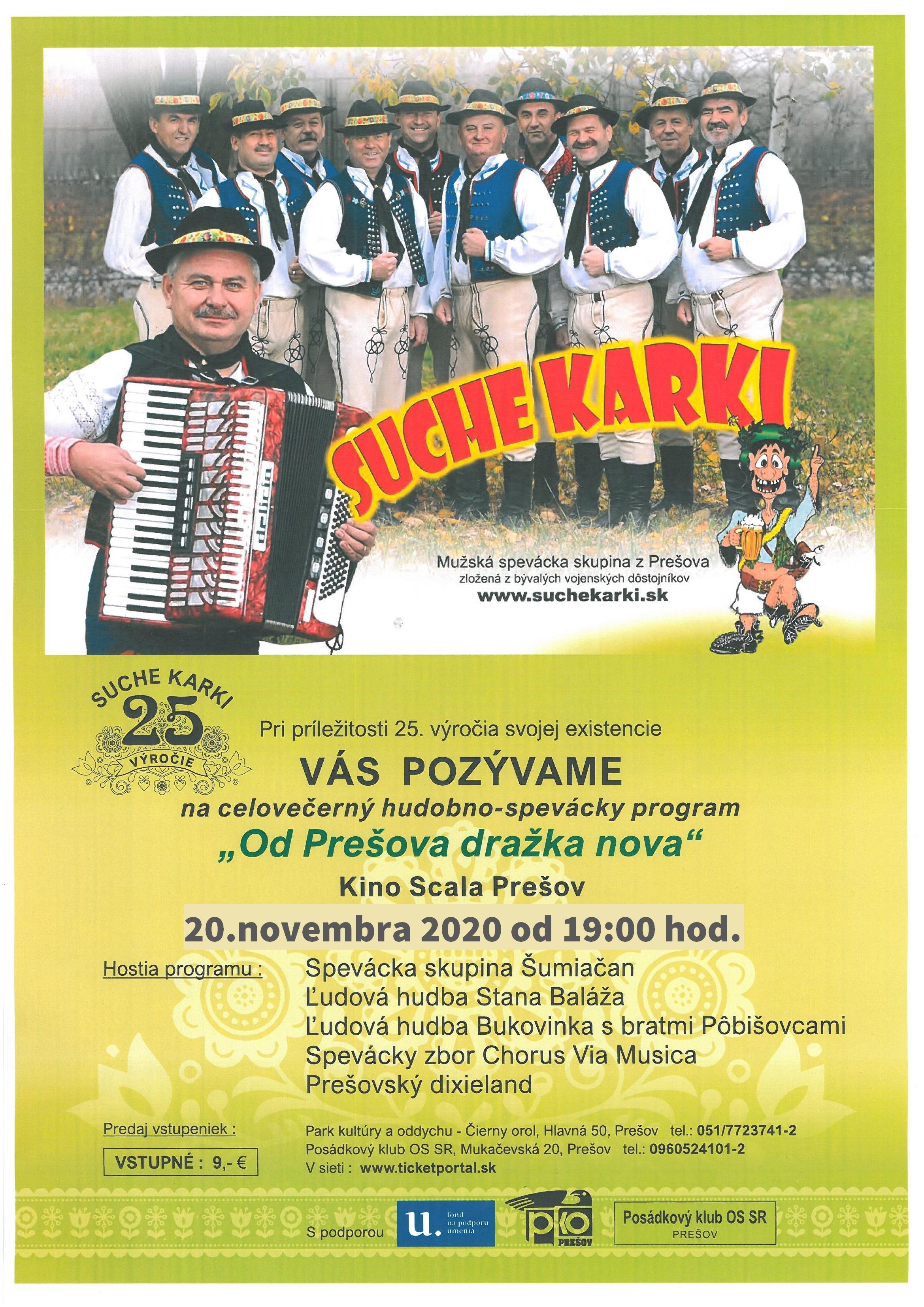 picture SUCHE KARKI Od Prešova dražka nova