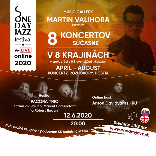 picture ONE DAY JAZZ FESTIVAL A-LIVE ONLINE 2020