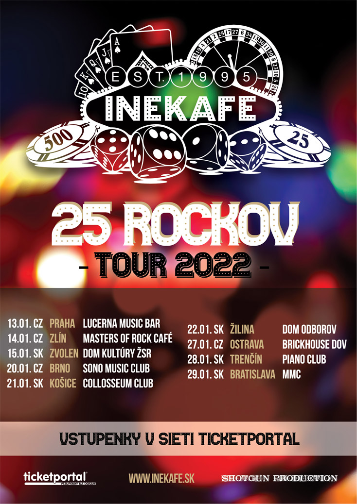 picture INEKAFE - 25 ROCKOV - TOUR 2022