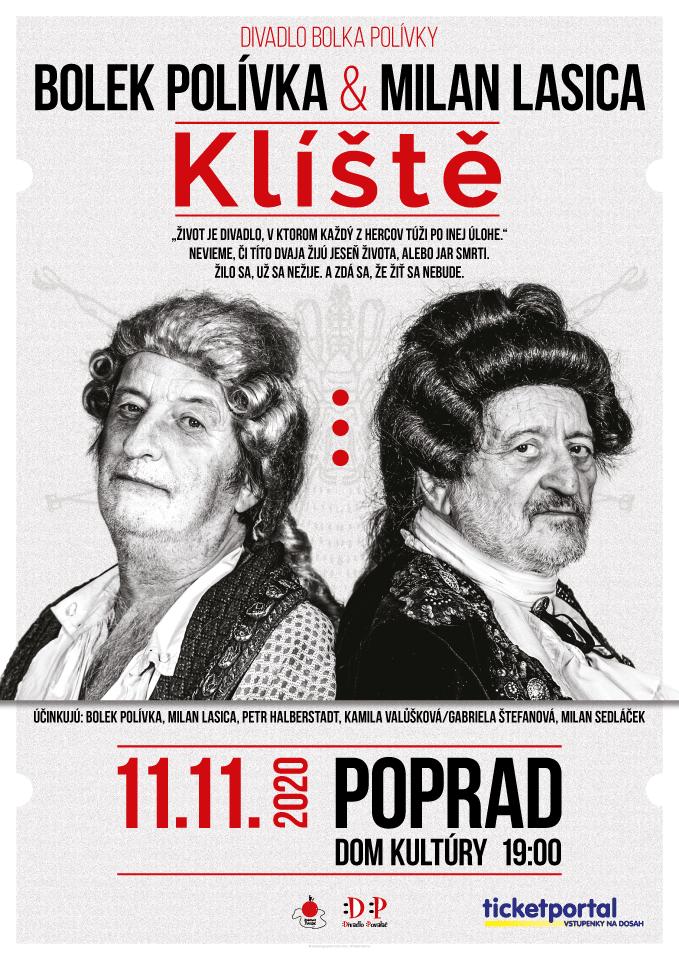 picture Divadlo Bolka Polívky - Klíšte