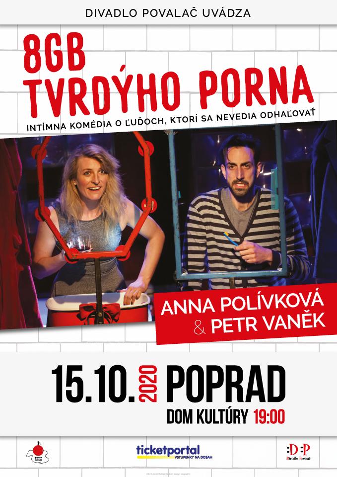 picture Divadlo Povalač - 8GB tvrdeho porna