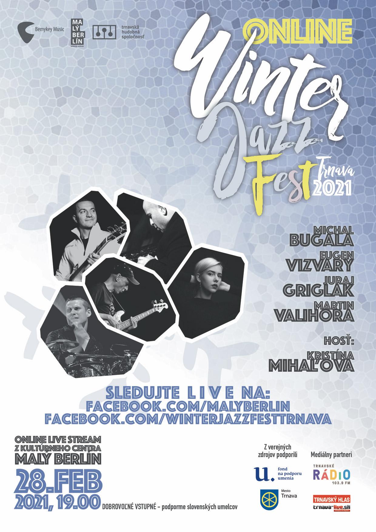 picture LIVE Stream: Winter JazzFest Trnava 2021 Online