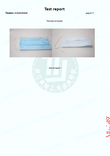 picture Jednorázové ochranné rúško