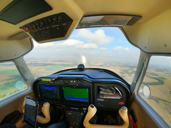 picture Zážitkový let na novom lietadle Sirius