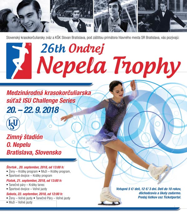 picture 26th Ondrej Nepela Trophy 2018