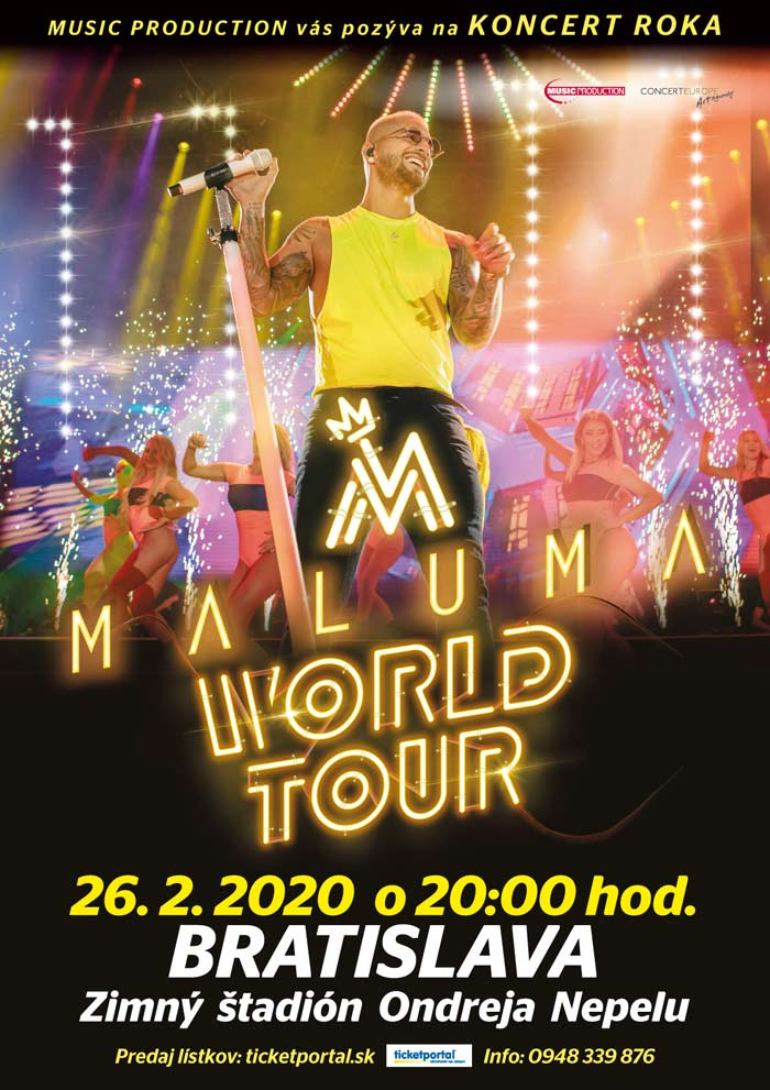 picture MALUMA WORLD TOUR