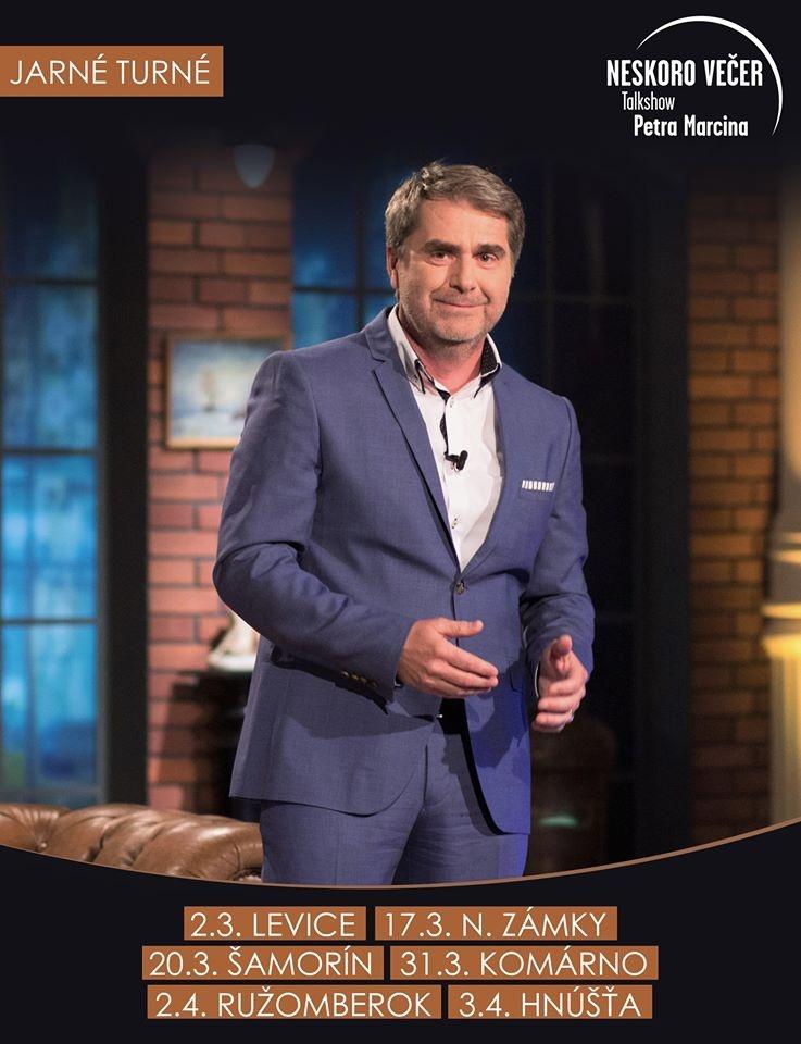 picture Neskoro večer - Talkshow Petra Marcina