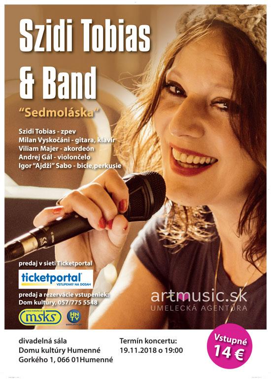 picture Szidi Tobias & Band - Sedmoláska