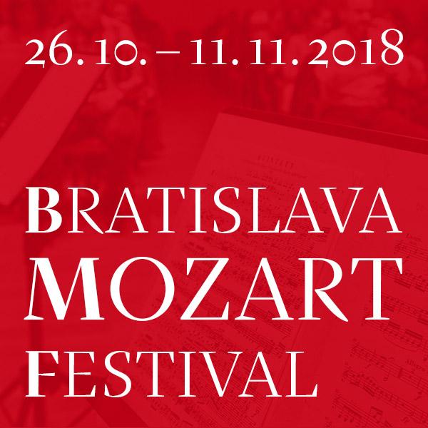 Bratislava Mozart Festival 2018