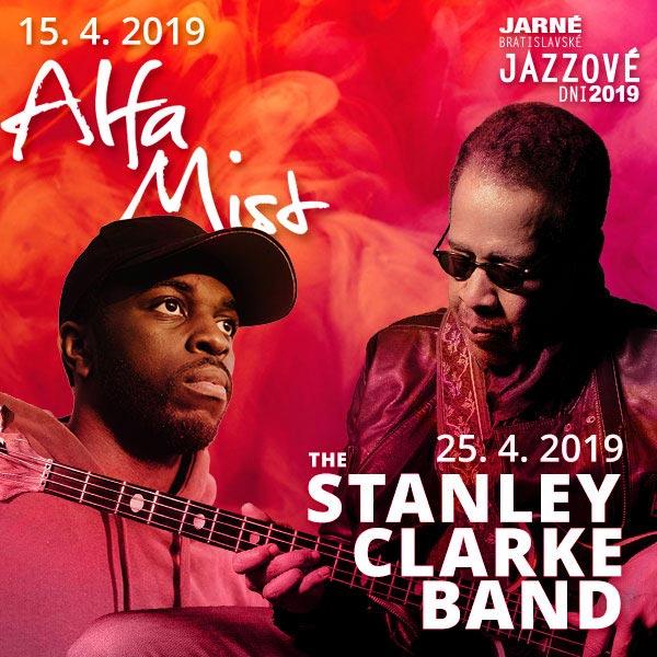 Jarné Bratislavské Jazzové Dni 2019