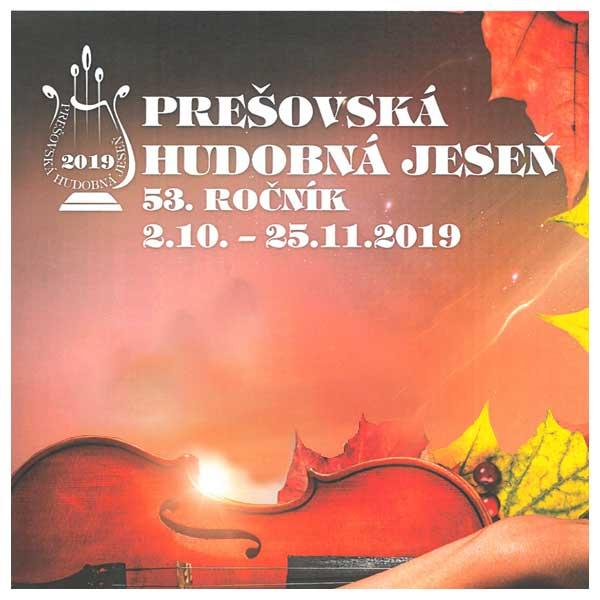 Prešovská hudobná jeseň 2019