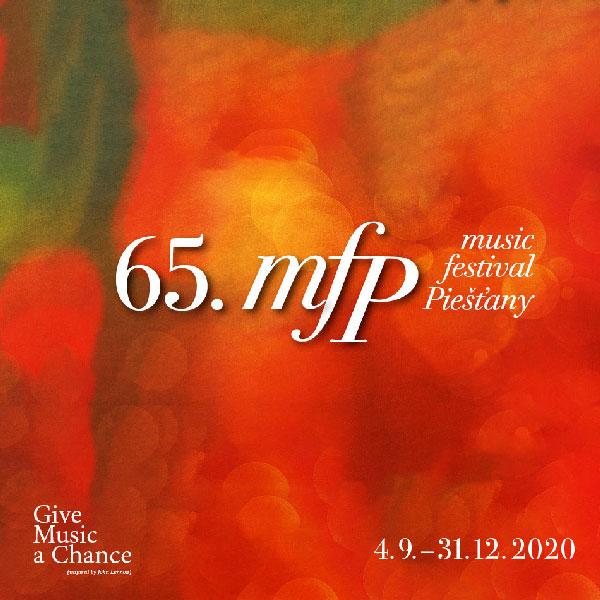 65. music festival Piešťany