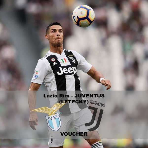 Lazio Rím – Juventus (letecky)
