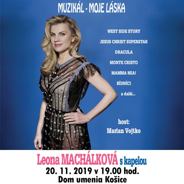 Muzikál -  moje láska, koncert Leony Machálkové