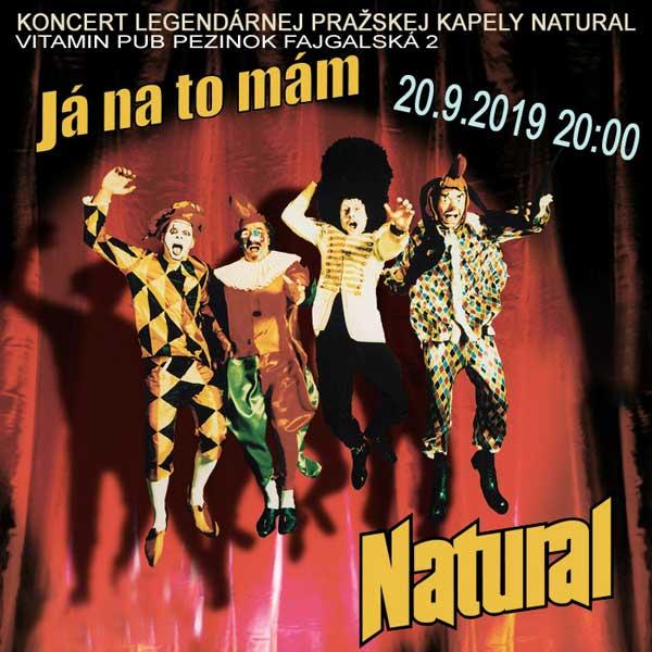 Koncert legendárnej skupiny NATURAL
