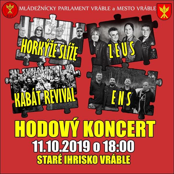 Hodový koncert 2019 s Horkýže Slíže