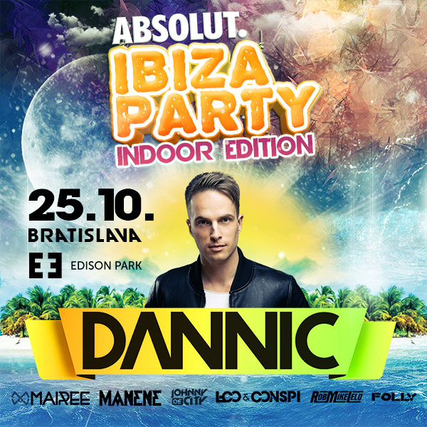 IBIZA PARTY 2019 indoor edition DANNIC