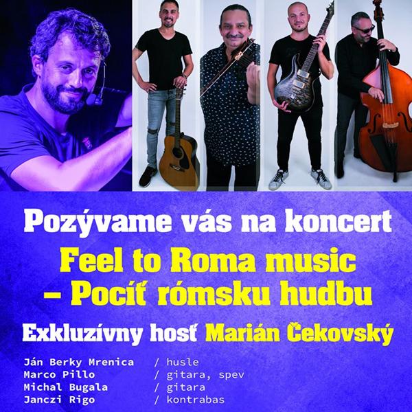 Feel to Roma music – pocíť rómsku hudbu