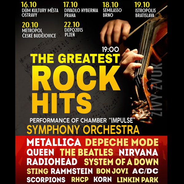 THE GREATEST ROCK HITS by Symphony Orchestra