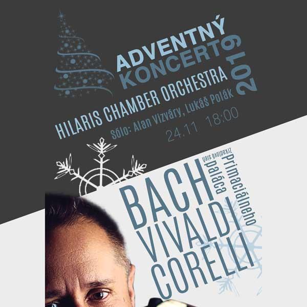 Adventný koncert Hilaris Chamber Orchestra