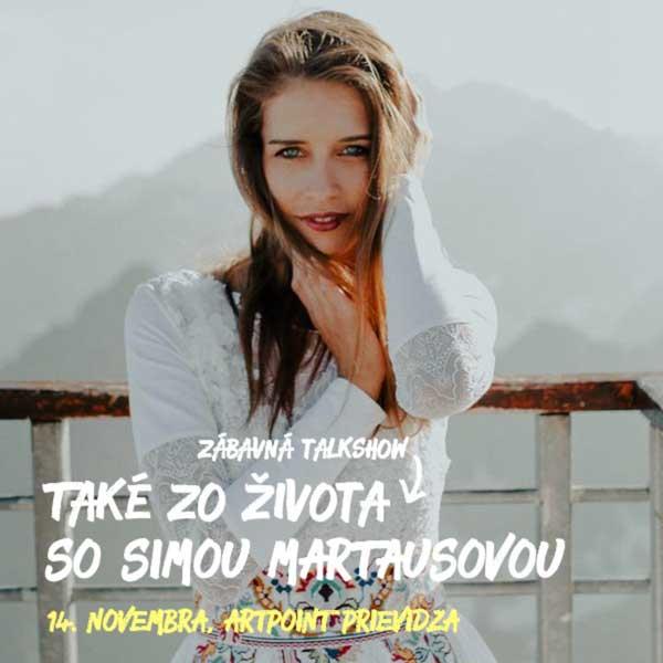 Talkshow Také zo života so Simou Martausovou