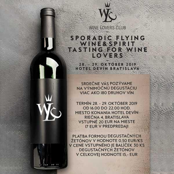 Sporadic Flying Wine&Spirit Tasting for Wine Lover