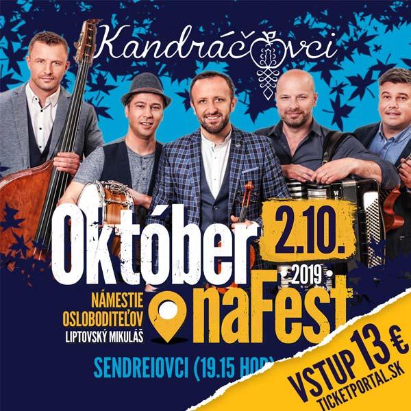 Október na fest 2019
