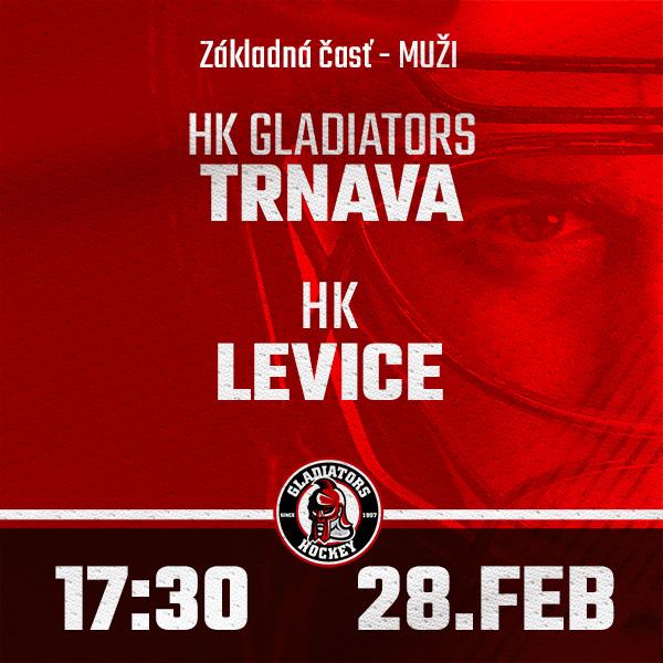 HK GLADIATORS Trnava - HK Levice (1.HL)
