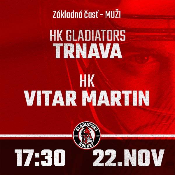 HK GLADIATORS Trnava - HK Martin (1.HL)