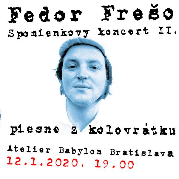 Fedor Frešo spomienkový koncert II.