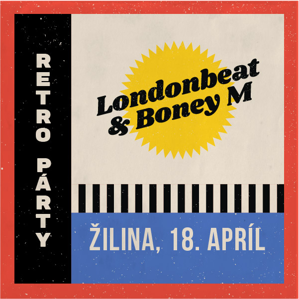 Retro Párty - LONDONBEAT a BONEY M