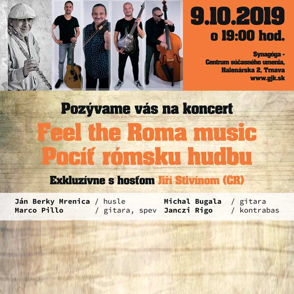 Feel  the Roma music/Pocíť rómsku hudbu