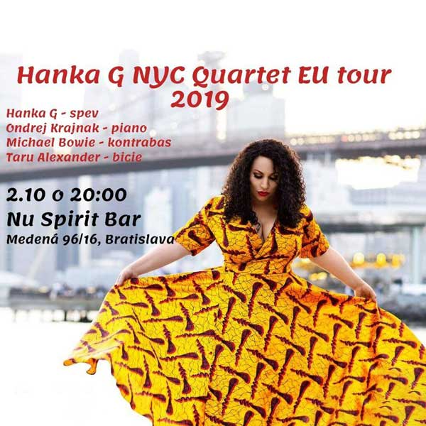 Hanka G NYC Quartet