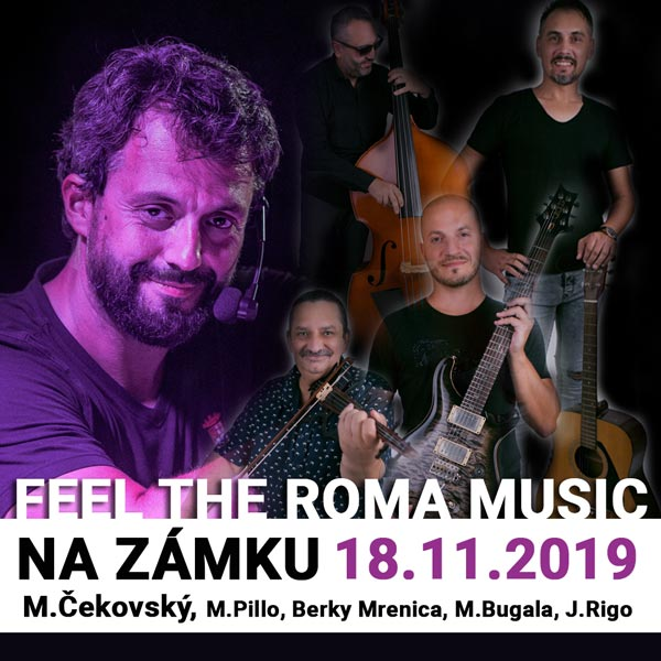 Feel the Roma music - M.Čekovský na zámku