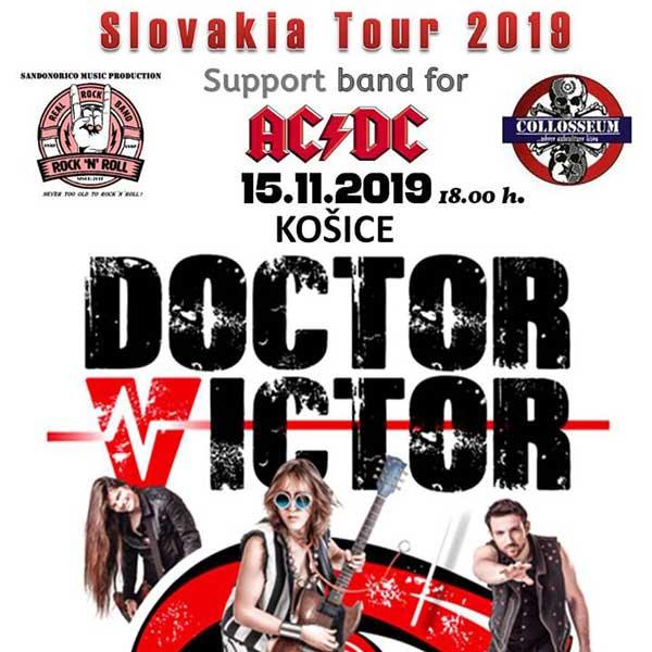 DOCTOR VICTOR Slovakia Tour 2019