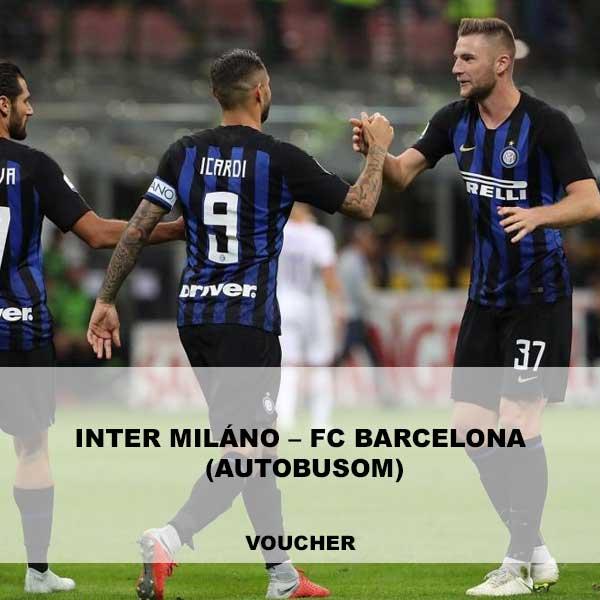 Inter Miláno – FC Barcelona (autobusom)
