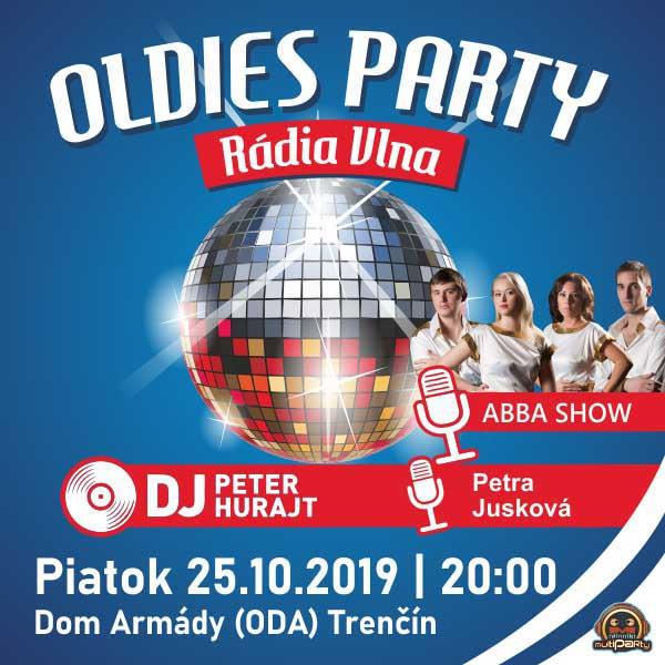 Oldies party Rádia VLNA + ABBA SHOW - Trenčín
