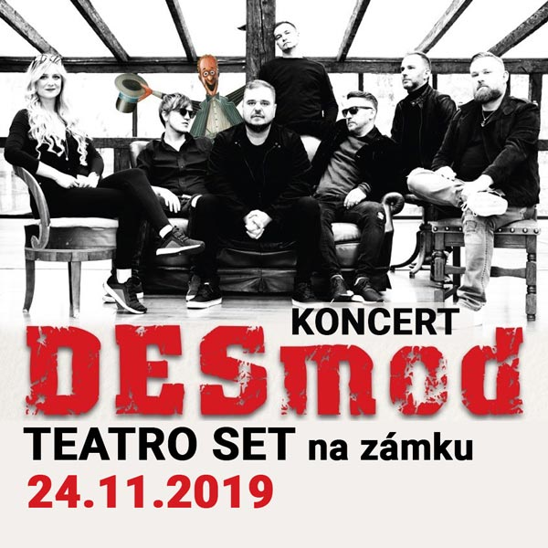 Koncert DESMOD TEATRO SET na zámku