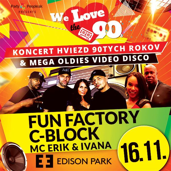 We Love 90,vol.8-Fun Factory, C-Block