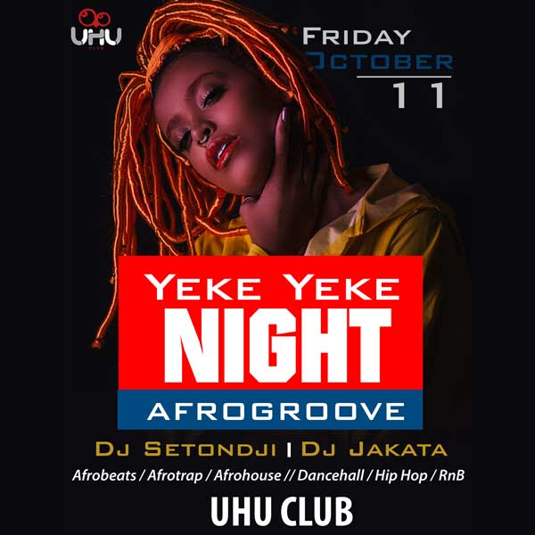 Afrogroove : Yeke Yeke Night